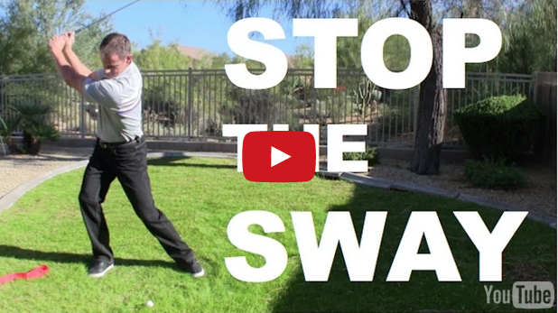 Golf Instruction Video To Stop Lateral Sway