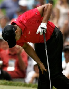 Back Pain For Tiger Woods